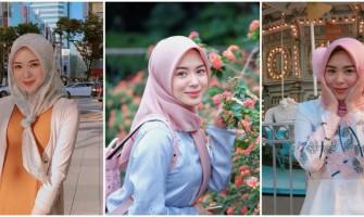 Stylish Banget, Yuk Contek 9 Inspirasi Busana Gamis ala Ayana Moon!