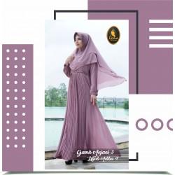 gamis anjani 3 dan hijab adiba 4