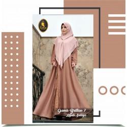 gamis brilian 7 dan hijab sabiya