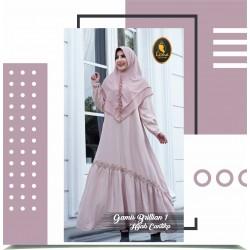 gamis brilian 1 dan hijab cantika