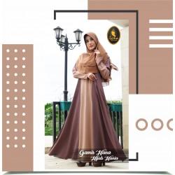 gamis hana dan hijab hania
