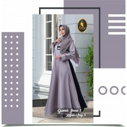 gamis inna 1 dan hijab arsy 3