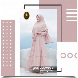 gamis nayarana 1 dan hijab andara