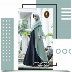 gamis nurma 3 dan hijab andara