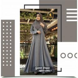 gamis puspa dan hijab adiba 6