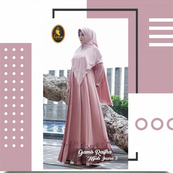 gamis raifha dan hijab inara 3