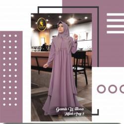 gamis wilona dan hijab arsy 8