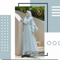 gamis zonna dan hijab adiba 6