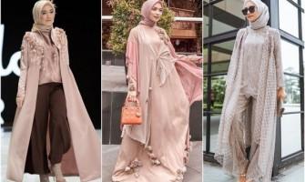 9 Pilihan Style Hijab Pesta Seleb Warna Pastel, Anggun Menawan!